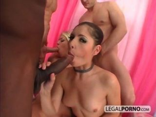 2 Girls Fucked By 3 Men With Huge Dicks Hc-14-02