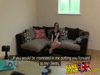 Fakeagentuk Petite Aussie Chick Gets Anal Action In Fake Casting