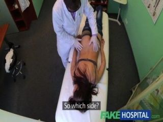 image Fakehospital pretty patient was prepped by nurse