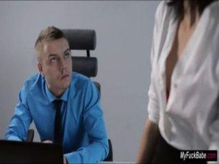 Sexy Secretary Sheri Vi Seduces Her Boss And Fucks Him