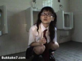 Cum Drenched Japanese Schoolgirl Public - Bukkake7