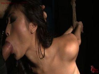 French Brat Girl Gets Rope Bondage