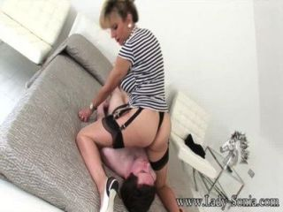 Lady Sonia Cumming On The Young Stables Boys Face