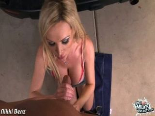 Busty Nikki Benz Riding Cock