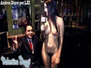 Valentina Nappi Naked For Andrea Dipr
