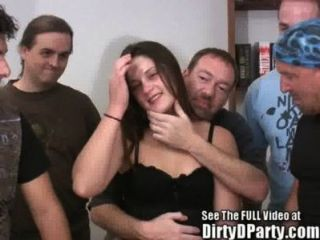 Perfect Pussy Party Slut Gangbanged Good