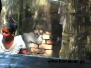 Village Bangla Girl Open Bath Hot