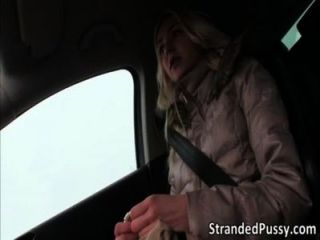 Hot Victoria Sucks And Fucks In The Backseat Of The Car For Revenge