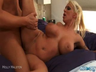 Milf Holly Halston Ride Anally A Large Dick