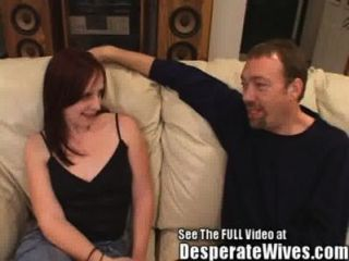 Red Head Skank Wife Humpes Hard