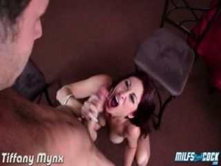 Busty Milf Tiffany Mynx Taking A Big Cock
