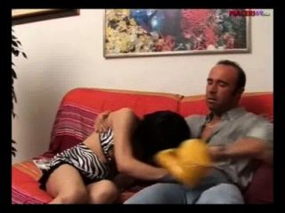 Sex In Italian Family - Daughter Does Blowjob To Her Father