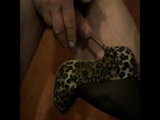 High Heel Insertion In Cock