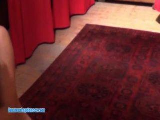 Adorable Lapdance By Petite Czech Brunette