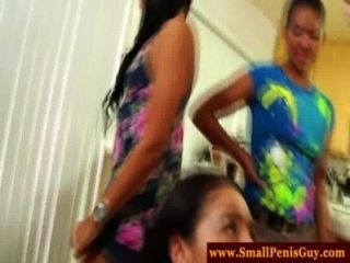 Cfnm Babes Have A Small Penis Party