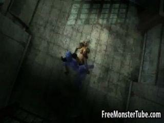 Foxy 3d Cartoon Blonde Getting Fucked By Beastndmistress-high 2