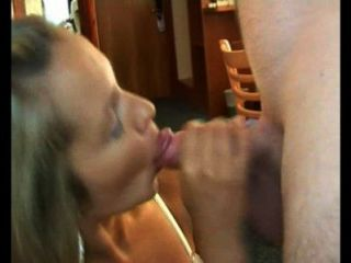 Cheating Wife In Quick Action After Work