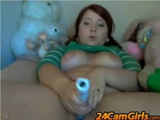 Chubby Webcam Dildo 2 - Www.24camgirls.com
