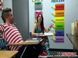 Horny Teens Ready To Fuck In Class High Definition;