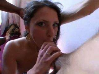 Indecente Girl Fucked By 2 Strangers! French Amateur