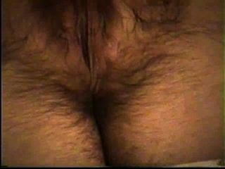 Wife Masturbates Her Hot Hairy Pussy (orgasm At The End)