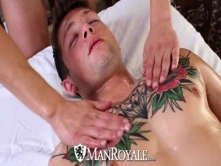 Hd - Manroyale Hardcore Massage And Ass Pounding For Two Hunks