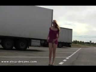 Flashing And Public Sex In A Rest Area