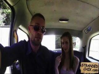 British Teen Fucks Cab Driver Stella Cox.2