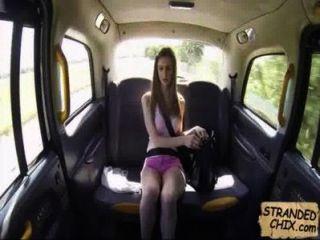 British Teen Fucks Cab Driver Stella Cox.1