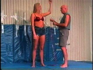 Flamingo Mixed Wrestling Mw084 Jessica Vs Paul Part 1