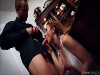 Innocent Beauty Wants To Get Fucked By Her Priest
