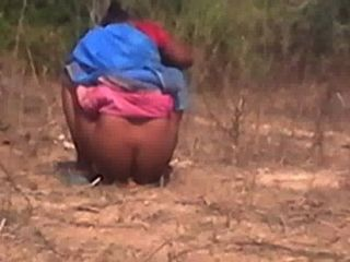 Tamil Aunty Caught Hidden Camera When She Peeing