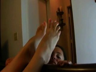 352 My Friend Licks My Feet While I Relax In Bed