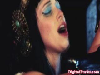 Glamcore Princess Sprayed With Cum