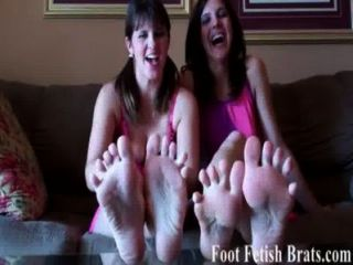 You Know You Love Sucking On Our Toes