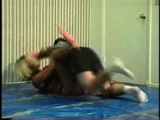 Flamingo Mixed Wrestling Mw066 2 - Jill Vs Brett Part2