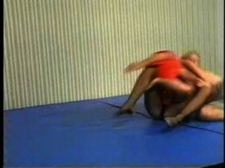 Flamingo Mixed Wrestling Mw086 - Jessica Vs Charlie Part2