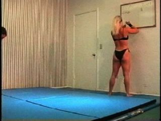 Flamingo Mixed Wrestling Mw074 2 - Christine Vs Brett Part 2