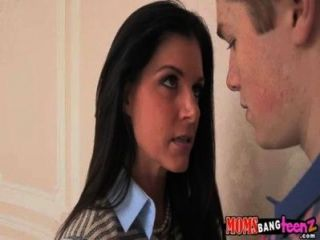Hot Mom And Her Daughter Fuck Lucky Guy India Summer, Veronica Radke 71
