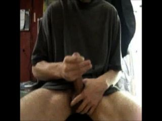 Terrence Jerking Off Stroking My Big Cock