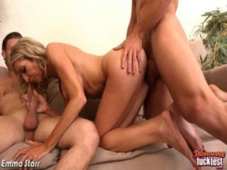 Sexy Emma Starr Take Two Dicks In Threesome