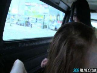 2 Teen Babes Chloe Taylor & Kimberly Wild Fucked Off The Street.3
