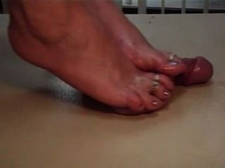 Oiled Feet Cock N Balls Massage
