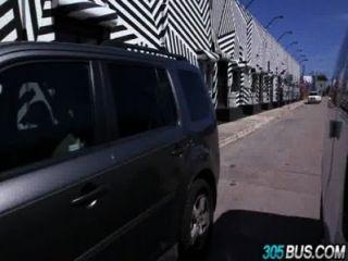 Petite Amateur Mila Blaze Ass Fucked On The 305bus.1
