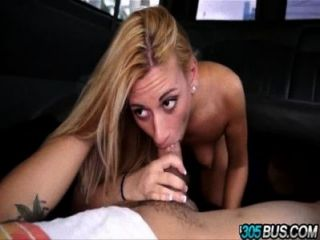 Cute Blondie Coco Blue Gets Tricked On The Bus.4