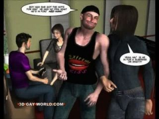 Twink Guy Vs Shemale Rock Diva Fanny 3d Gay Comics