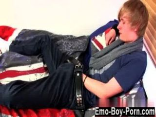 Gay Video Brent Daley Is A Adorable Blonde Emo Boy One Of Our Fellows