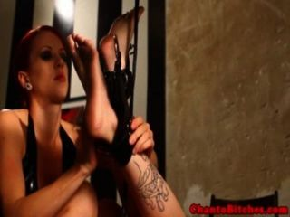 Tattooed Sub Caned Until Red Raw