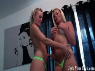 Two Blondes Want To Help Your Cum Joi