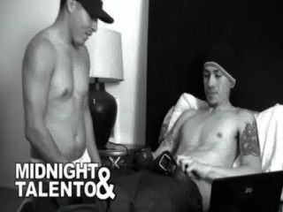 Big Dick Latino Receiving A Blowjob